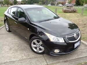 2012 Holden Cruze Black Sports Automatic Hatchback Heidelberg Heights Banyule Area Preview
