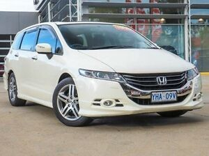 2010 Honda Odyssey 4th Gen MY10 Luxury White 5 Speed Sports Automatic Wagon Belconnen Belconnen Area Preview