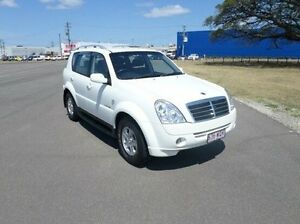 2010 Ssangyong Rexton Y285 II MY10 RX270 White 5 Speed Sports Automatic Wagon Hyde Park Townsville City Preview