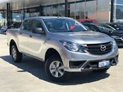 2018 Mazda BT-50 UR0YG1 XT Silver 6 Speed Sports Automatic Utility Palmyra Melville Area Preview