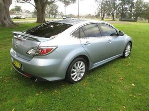 2012 Mazda 6 GH1052 MY12 Touring Blue 5 Speed Sports Automatic Hatchback East Kempsey Kempsey Area Preview