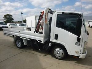 2009 Isuzu N Series White Cab Chassis 4x2 Coburg North Moreland Area Preview