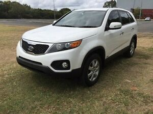 2012 Kia Sorento XM MY12 SI White 6 Speed Manual Wagon Maryborough Fraser Coast Preview