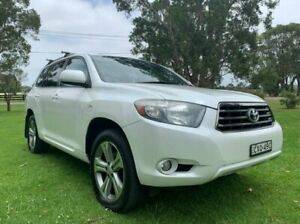 2010 Toyota Kluger GSU45R KX-S (4x4) White 5 Speed Automatic Wagon Tuggerah Wyong Area Preview
