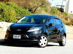 2012 Ford Fiesta WT CL PwrShift Black 6 Speed Sports Automatic Dual Clutch Hatchback Christies Beach Morphett Vale Area Preview