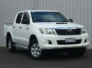 2012 Toyota Hilux White Automatic Utility Hoppers Crossing Wyndham Area Preview