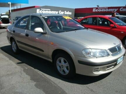 2003 Nissan Pulsar N16 MY2003 ST-L Gold 5 Speed Manual Sedan Invermay Launceston Area Preview