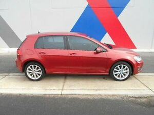 2014 Volkswagen Golf VII MY14 110TDI DSG Highline Red 6 Speed Sports Automatic Dual Clutch Hatchback Bunbury Bunbury Area Preview