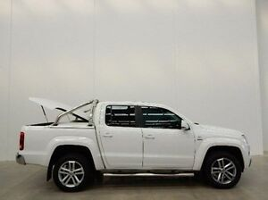 2015 Volkswagen Amarok 2H MY15 TDI420 4Motion Perm Ultimate White 8 Speed Automatic Utility Braeside Kingston Area Preview