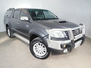 2012 Toyota Hilux KUN26R MY12 SR Double Cab Grey 4 Speed Automatic Utility Mount Gambier Grant Area Preview