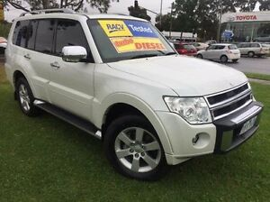 2011 Mitsubishi Pajero NT MY11 RX White 5 Speed Sports Automatic Wagon Ferntree Gully Knox Area Preview
