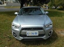 2014 Mitsubishi ASX XB MY14 2WD Silver 5 Speed Manual Wagon Derwent Park Glenorchy Area Preview