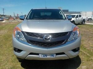 2013 Mazda BT-50 Silver Sports Automatic Utility Pakenham Cardinia Area Preview