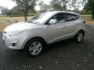 2011 Hyundai ix35 LM MY11 Active Silver 5 Speed Manual Wagon Mitchell Bathurst City Preview