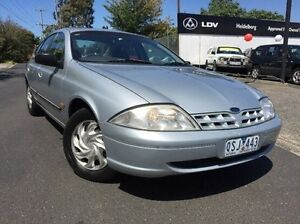 1999 Ford Falcon AU Forte Silver 4 Speed Automatic Sedan Heidelberg Heights Banyule Area Preview
