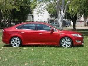 2010 Ford Mondeo MB Titanium Red 6 Speed Sports Automatic Hatchback Winnellie Darwin City Preview