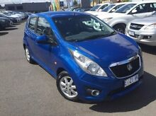 2011 Holden Barina Spark MJ MY11 CD Blue 5 Speed Manual Hatchback Launceston Launceston Area Preview