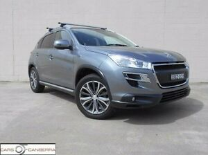 2016 Peugeot 4008 MY15 Active 2WD Grey 6 Speed Constant Variable Wagon Fyshwick South Canberra Preview