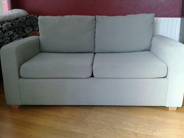Som 39 Toile Sofa Bed Excellent Condition In Norwich