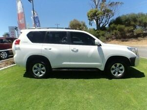2013 Toyota Landcruiser Prado KDJ150R GXL White 5 Speed Sports Automatic Wagon Mandurah Mandurah Area Preview