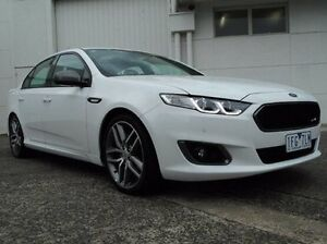 2015 Ford Falcon FG X XR6 Turbo White 6 Speed Sports Automatic Sedan Bundoora Banyule Area Preview