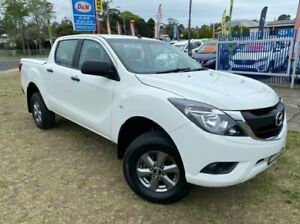 2016 Mazda BT-50 MY16 XT Hi-Rider (4x2) White 6 Speed Automatic Dual Cab Utility Dapto Wollongong Area Preview