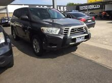 2008 Toyota Kluger GSU45R KX-R AWD Grey 5 Speed Sports Automatic Wagon Maidstone Maribyrnong Area Preview
