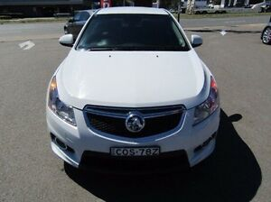 2013 Holden Cruze JH Series II MY14 SRi-V White 6 Speed Sports Automatic Hatchback Cardiff Lake Macquarie Area Preview
