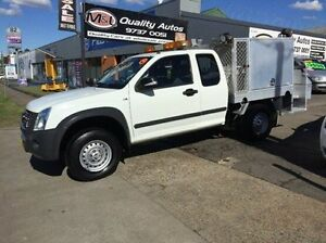 2008 Holden Rodeo RA MY08 LX Space Cab White 4 Speed Automatic Utility Newington Auburn Area Preview