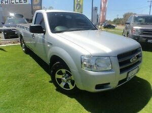 2008 Ford Ranger PJ XL Silver 5 Speed Manual Utility Mandurah Mandurah Area Preview