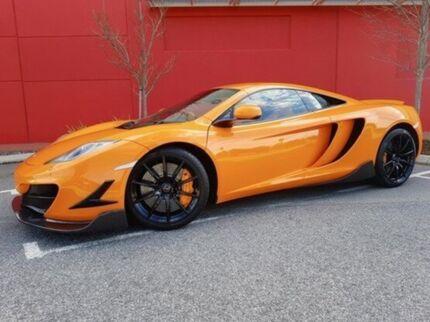 2012 McLaren MP4-12C 12C MY12 SSG Orange 7 Speed Sports Automatic Dual Clutch Coupe
