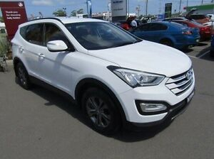 2013 Hyundai Santa Fe DM MY13 Active White 6 Speed Manual Wagon Cardiff Lake Macquarie Area Preview