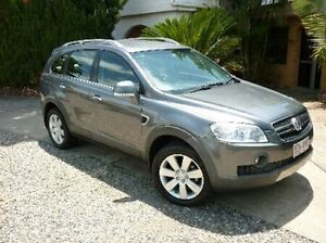 2007 Holden Captiva CG MY08 LX Grey 5 Speed Semi Auto Wagon Deagon Brisbane North East Preview
