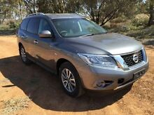 2015 Nissan Pathfinder  Grey Constant Variable Wagon Port Augusta 5700 Port Augusta City Preview