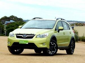 2014 Subaru XV G4-X MY14 FX Lineartronic AWD Green 6 Speed Constant Variable Wagon Christies Beach Morphett Vale Area Preview