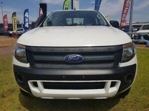 2014 Ford Ranger PX XL Double Cab White 6 Speed Sports Automatic Utility