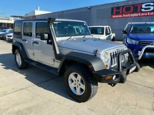 2011 Jeep Wrangler JK MY2010 Unlimited Sport Silver 5 Speed Automatic Softtop Granville Parramatta Area Preview