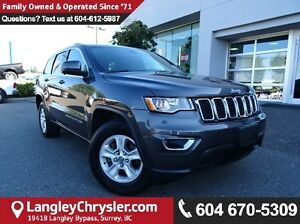 2017 Jeep Grand Cherokee Laredo *ACCIDENT FREE*LOCAL BC CAR*