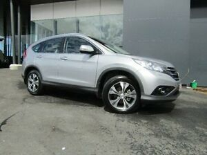 2014 Honda CR-V RM MY15 VTi-L 4WD Silver 5 Speed Sports Automatic Wagon Earlville Cairns City Preview