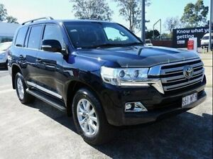 2015 Toyota Landcruiser VDJ200R Sahara Blue 6 Speed Sports Automatic Wagon Wynnum Brisbane South East Preview