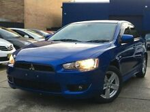 2007 Mitsubishi Lancer CJ MY08 VR Blue 5 Speed Manual Sedan Kings Park Blacktown Area Preview