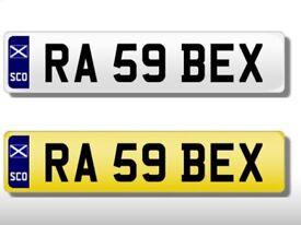 Cheap Rebecca Private Number Plate