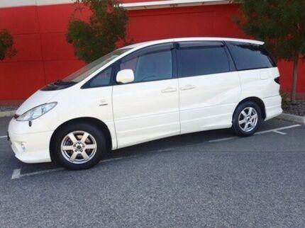 2003 Toyota Estima White Automatic Wagon