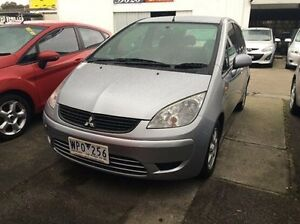 2008 Mitsubishi Colt RG MY08 ES Silver 1 Speed Constant Variable Hatchback Maidstone Maribyrnong Area Preview
