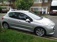 ** Peugeot 207 VTi Sports Automatic 2008 38,000 Miles**