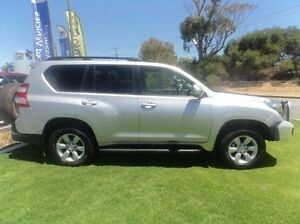 2014 Toyota Landcruiser Prado KDJ150R MY14 GXL Silver 5 Speed Sports Automatic Wagon Mandurah Mandurah Area Preview