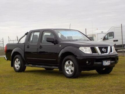 2010 Nissan Navara D40 ST Cosmic Black 6 Speed Manual Utility Pakenham Cardinia Area Preview