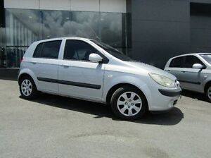 2008 Hyundai Getz TB MY07 S Silver 5 Speed Manual Hatchback Earlville Cairns City Preview
