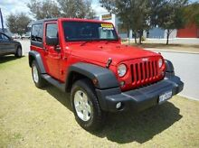 2015 Jeep Wrangler JK MY2015 Sport Red 5 Speed Automatic Softtop East Rockingham Rockingham Area Preview