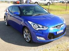2012 Hyundai Veloster FS + Coupe Blue 6 Speed Manual Hatchback Singleton Singleton Area Preview